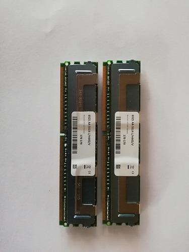 memoria ram de servidor ddr2 16gb 2x8gb 5300 ecc
