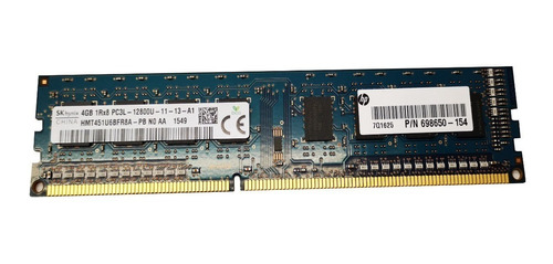 memoria ram hynix hp pc 4 gb ddr3l 1600 1.35v hmt451u6bfr8a