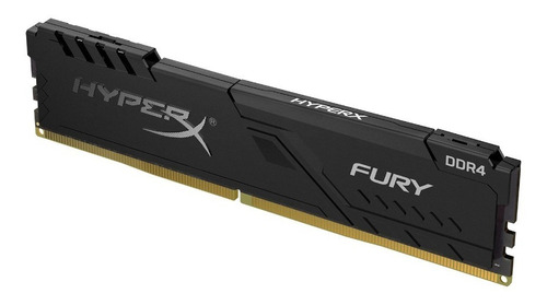 memoria ram hyperx 8gb 2400mhz ddr4 dimm fury negro