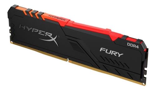 memoria ram hyperx 8gb 2400mhz ddr4 dimm fury rgb