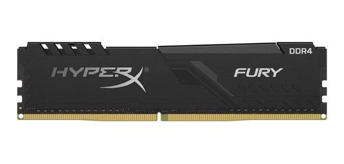 memoria ram hyperx 8gb 3200mhz ddr4 dimm fury negro