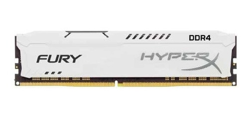 memória ram hyperx ddr4 16gb 2400mhz branca (hx424c15fw/16)
