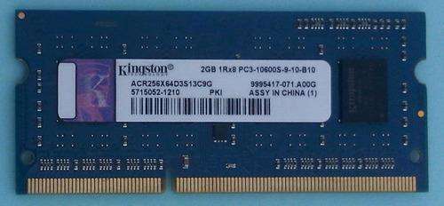 memoria ram kingston 2gb pc3