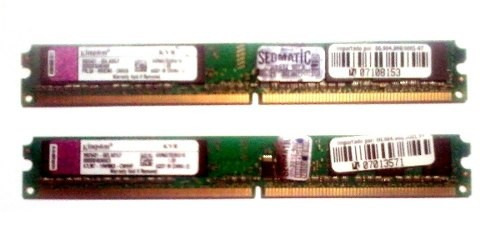 memória ram kingston ddr2 2gb 800 mhz desktop