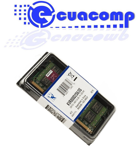 memoria ram kingston ddr2 2gb pc2-6400 800 mhz sodimm laptop