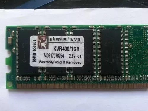 memoria ram kingston ddr400 de 1gb