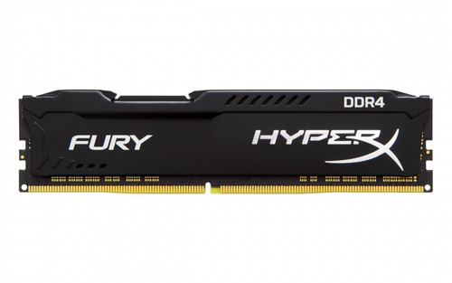 memoria ram kingston hyperx fury black ddr4-2400mhz16gb-cl15