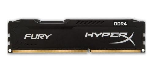 memoria ram kingston hyperx fury - ddr4 - 8gb - 2400 mhz