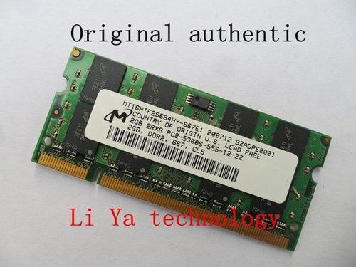 memoria ram laptop 1gb ddr2 pc2-5300s-555