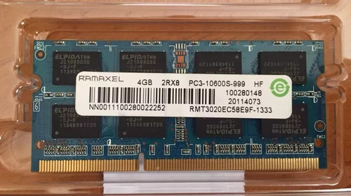 memoria ram laptop 4gb