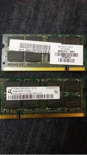 memoria ram laptop ddr2 2gb 2rx8 pc2-5300s-555-12-f0