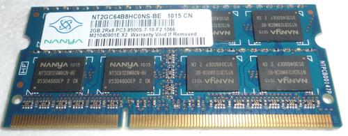 memoria ram laptop nanya 2 gb ddr3