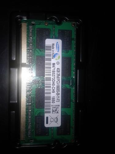 memoria ram laptop pc3-10600 1333mhz de 2 gb