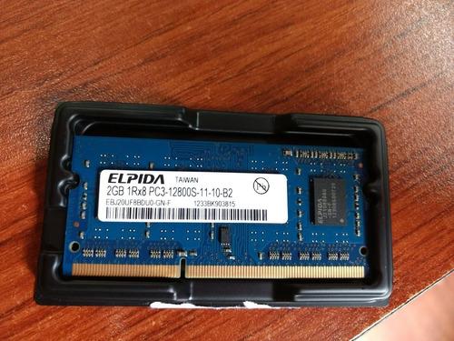 memoria ram macbook pro elpida 2gb