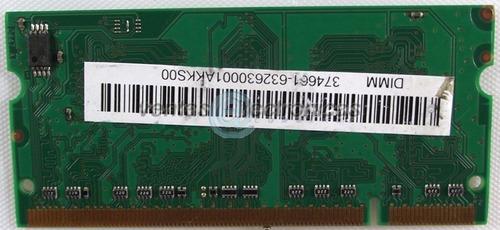 memoria ram micron 256mb 1rx16 pc2-4200s-444-12-zz ipp4
