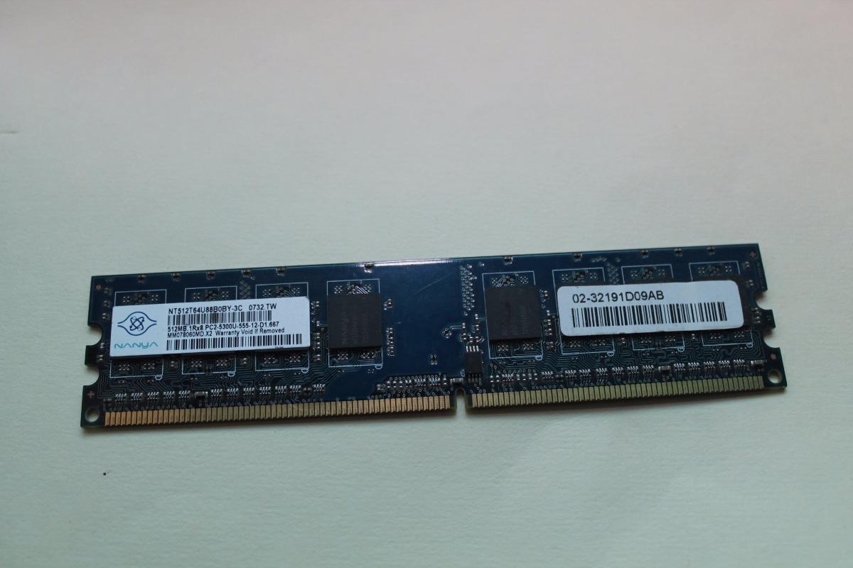 tarjeta de memoria ram 512 mb