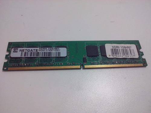 memória ram netgate 1gb 667mhz ddr2