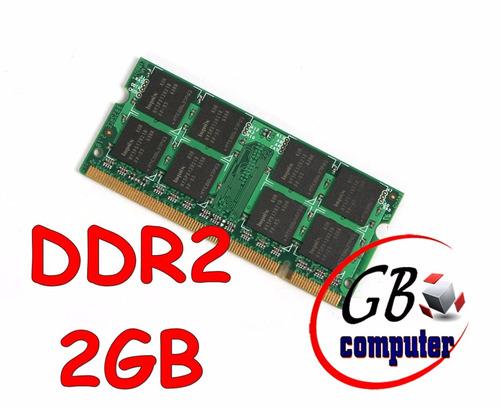 memoria ram notebook 2gb ddr2 667mhz 800mhz 5300s 6400s