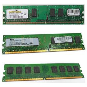 Memória Ram P/ Cpu 1gb Ddr2 2rx8 Pc2-5300u - Envio Imediato
