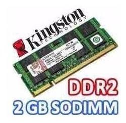 memoria ram para laptop 2gb ddr2 bus 667-800