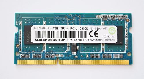 memoria ram para laptop 4gb ddr3 1600mhz