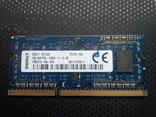 memoria ram para laptop 4gb ddr3