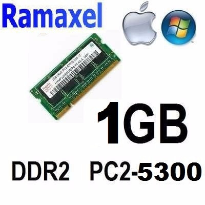 memoria ram para laptop, mini-laptop ddr2 1gb 555 mhz
