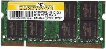 memoria ram para portatil ddr2 2gb. garantia de12 meses