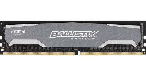 memoria ram pc ballistix sport 8gb ddr4 2400 mhz como nueva