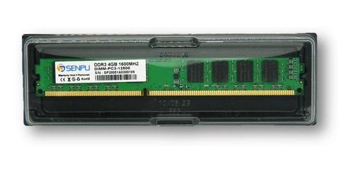memoria ram pc ddr3 4gb 1600mhz pc3-12800u tienda