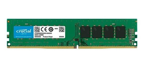 memoria ram pc ddr4 crucial 4gb 2400 mhz