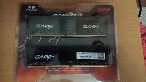 memoria ram pc gloway game 8gb ddr4