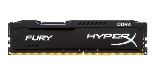 memoria ram pc kingston hyperx fury 8gb ddr4 2400mhz gamer