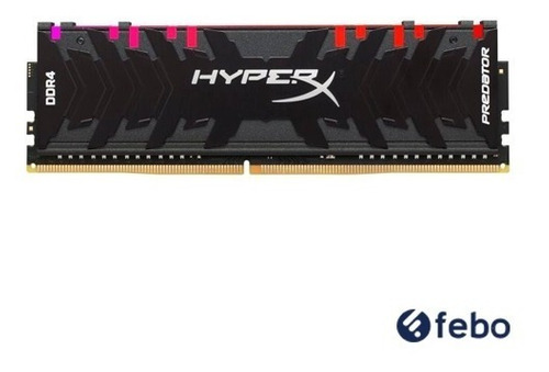 memoria ram pc kingston hyperx predator rgb ddr4 8gb 2933mhz