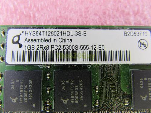 memoria ram qimonda 1gb pc2-5300s ddr2 667 sodimm usada