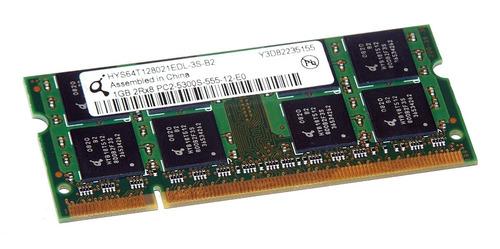 memoria ram  quimonda 1gb-ddr2 2rx8 pc2-5300s