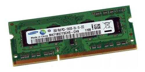memoria ram samsung 2gb ddr3 notebook 1333mhz nuevas