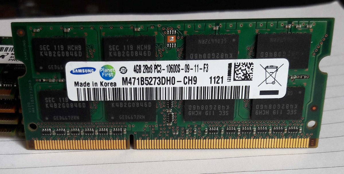 """USA 4GB 8GB PC3-10600 DDR3-1333MHz Memory for MacBook Pro 13/"""" Late 2011 A1278"""