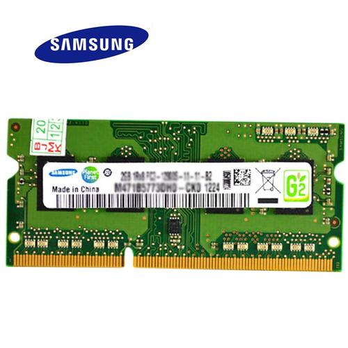 memoria ram samsung ddr3 2gb pc3 1600mhz para laptop nueva