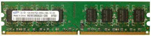 memoria ram samsung m378t2953ez3-ce6 1gb 2rx8 pc2-5300u ddr2