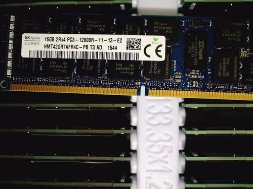 memoria ram servidor 16gb pc3-12800r (1600)poweredge prolian