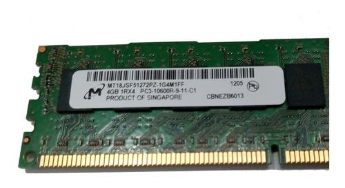 memoria ram servidor hp proliant g6 g7 593339-b21 - 4gb 1333