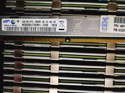 memoria ram servidor ibm vlp 4gb  pc3-10600r blade