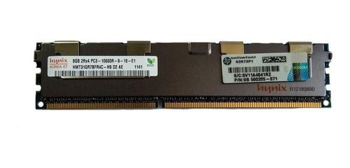 memoria  ram servidores 8 gb ddr3 2rx4 pc3-10600r ecc reg