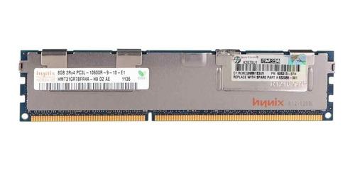 memoria  ram servidores 8 gb ddr3 2rx4 pc3l-10600r ecc reg
