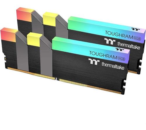 memoria ram thermaltake toughram rgb ddr4 16gb 4400mhz nnet