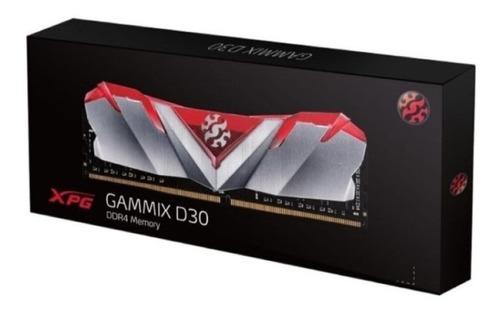 memoria ram xpg gammix d30 16gb ddr4 3000 mhz roja negra