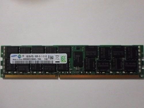 memoria samsung 16gb ram 2rxpc3l-10600r-09-11-e2-d3 servidor