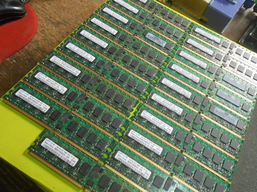memoria samsung ddr2 667 pc2-5300 1gb ecc server