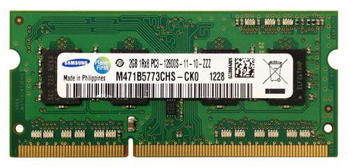 memoria samsung sodimm ddr3 2gb 1600 cl11 (m471b5773chs-ck0)